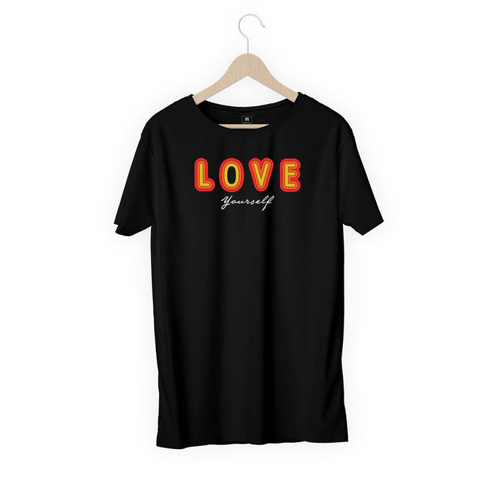 1481-love-yourself-men-half-t-shirt