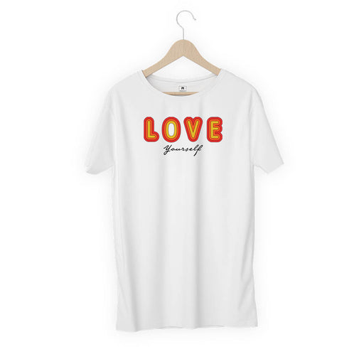 1482-love-yourself-men-half-t-shirt