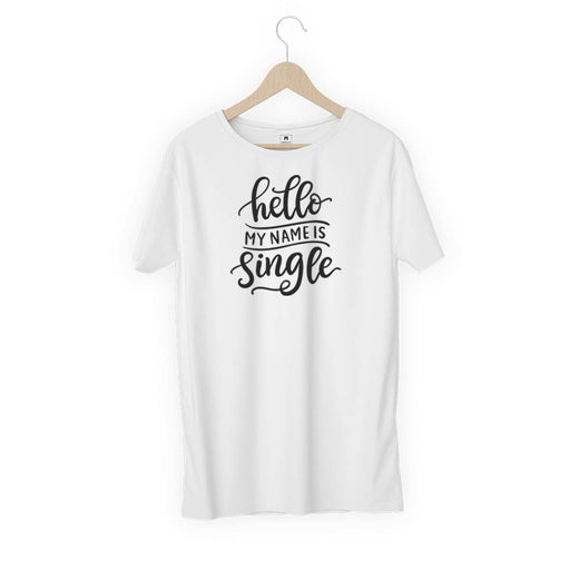 1486-hello-my-name-is-single-men-half-t-shirt