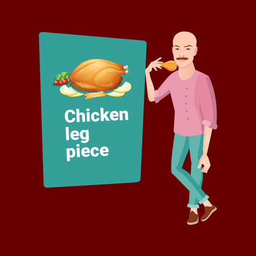 5737-chicken-leg-piece-men-half-t-shirt