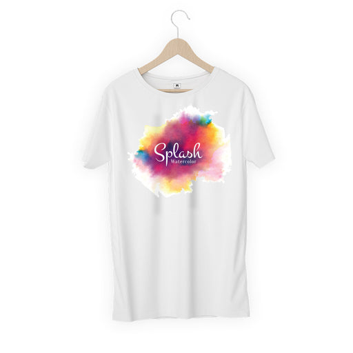 5699-splash-watercolour-women-half-t-shirt