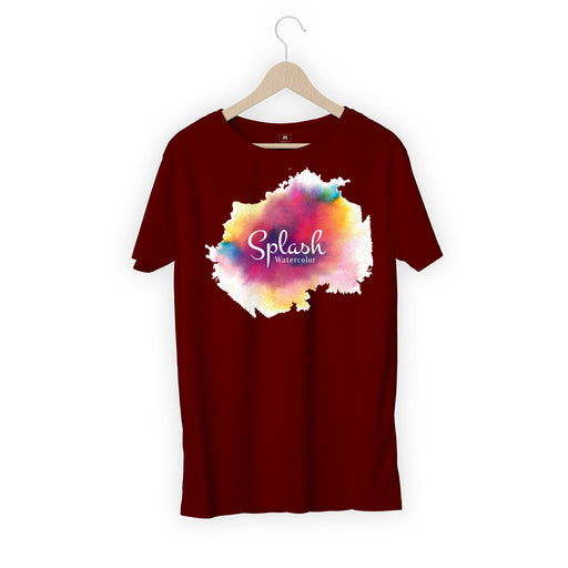 5700-splash-watercolour-women-half-t-shirt