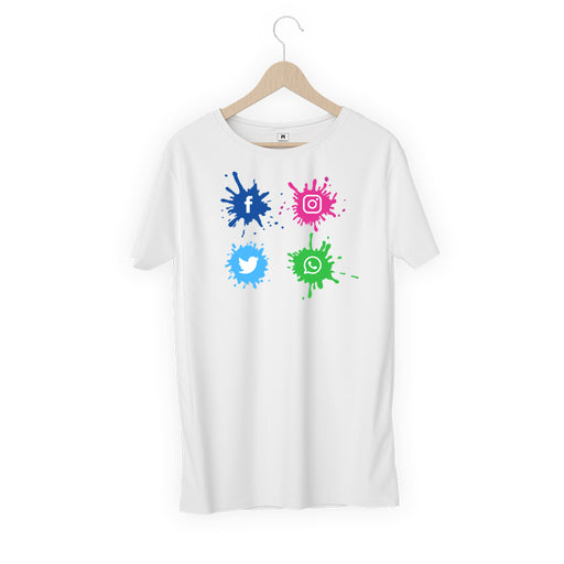 5609-social-site-logo-men-half-t-shirt