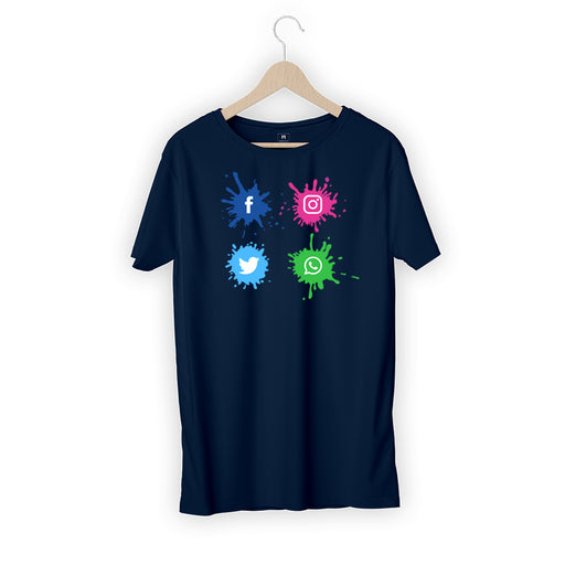 5610-social-site-logo-men-half-t-shirt