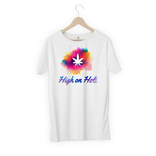 5729-high-on-holi-women-half-t-shirt