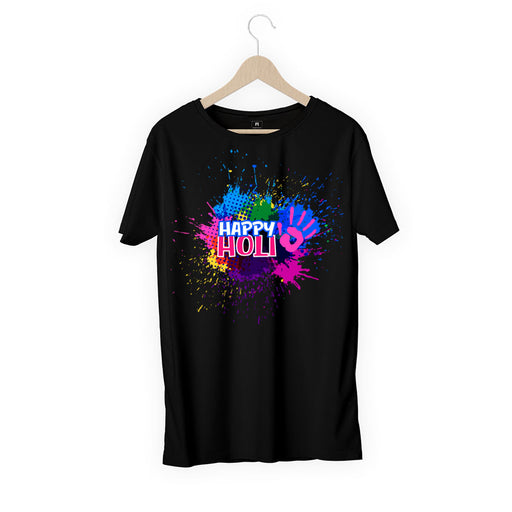 5732-happy-holi-with-hand-women-half-t-shirt