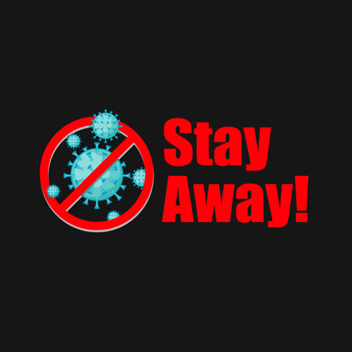 Stay Away Men Half T-Shirt