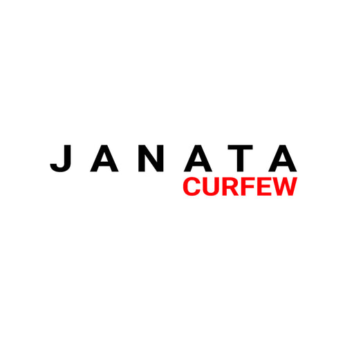 Janta Curfew Men Half T-Shirt