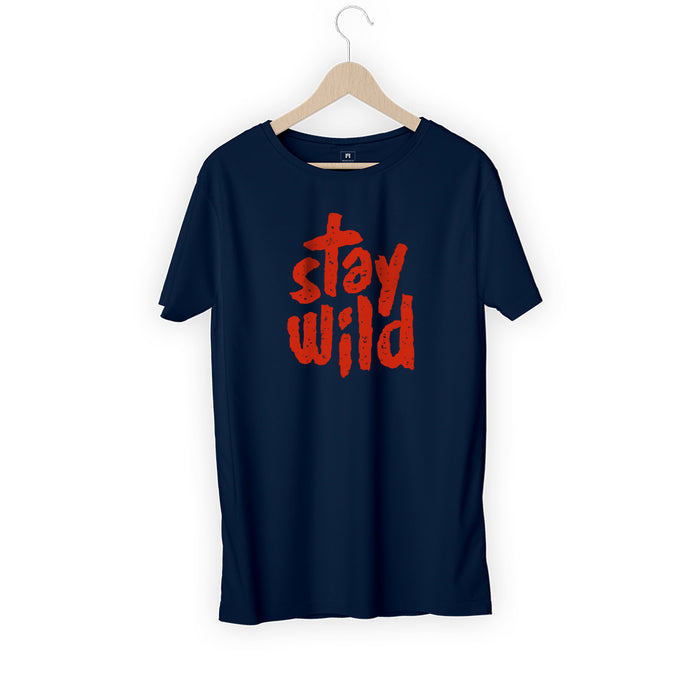387-stay-wild-men-half-t-shirt