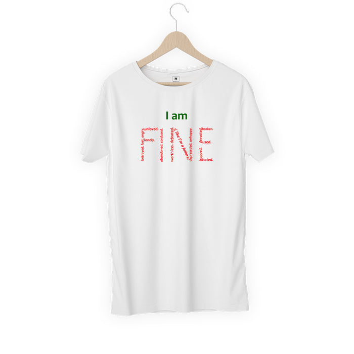 406-i-am-fine-men-half-t-shirt