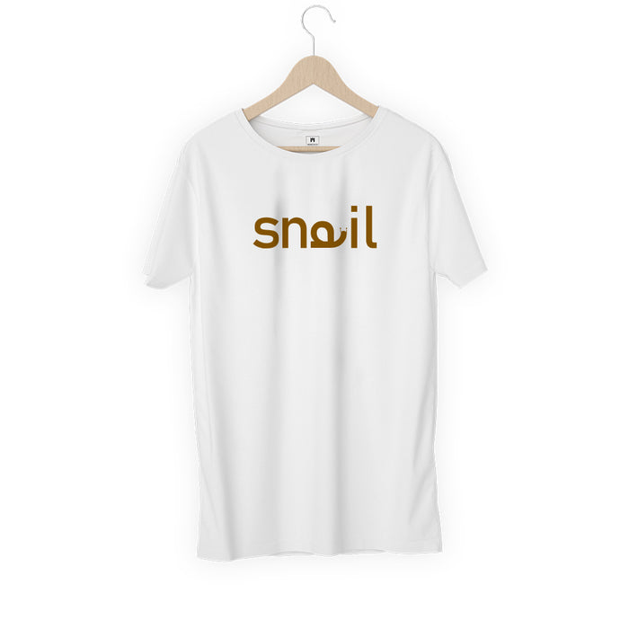2293-snail-women-half-t-shirt