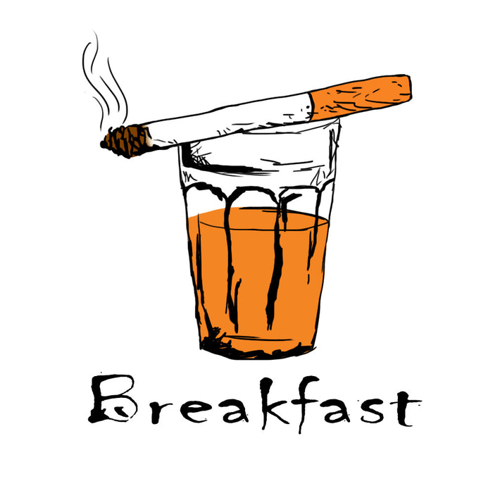 Breakfast Unisex Half T-Shirt