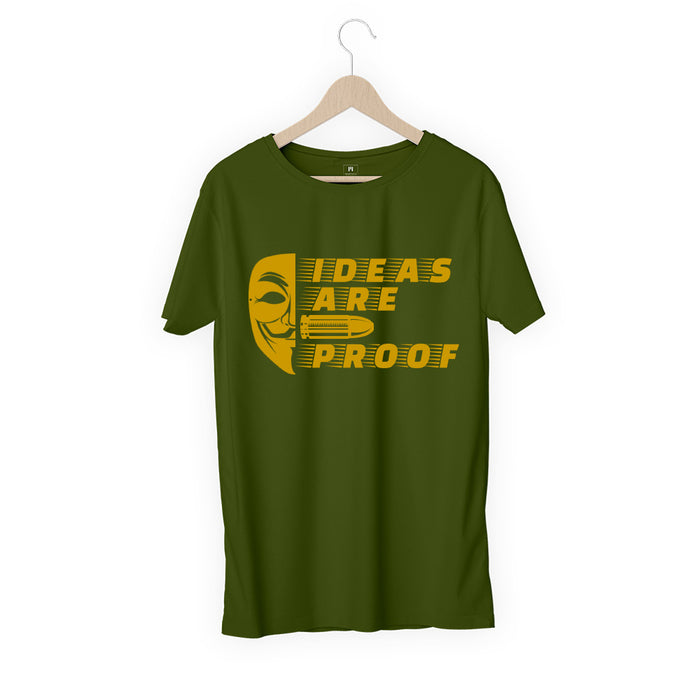 651-ideas-are-bullet-proof-men-half-t-shirt