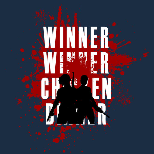 678-chicken-dinner-men-half-t-shirt
