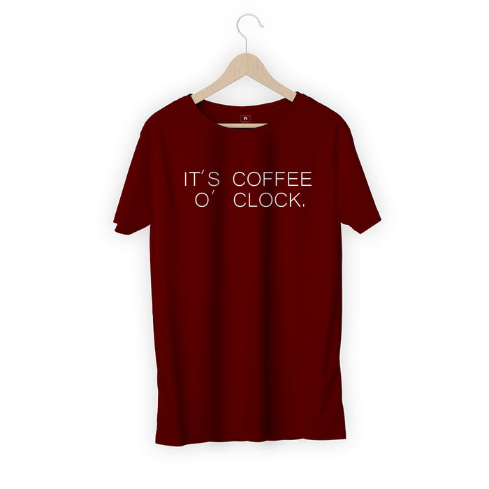 1874-its-coffee-o'-clock-men-half-t-shirt