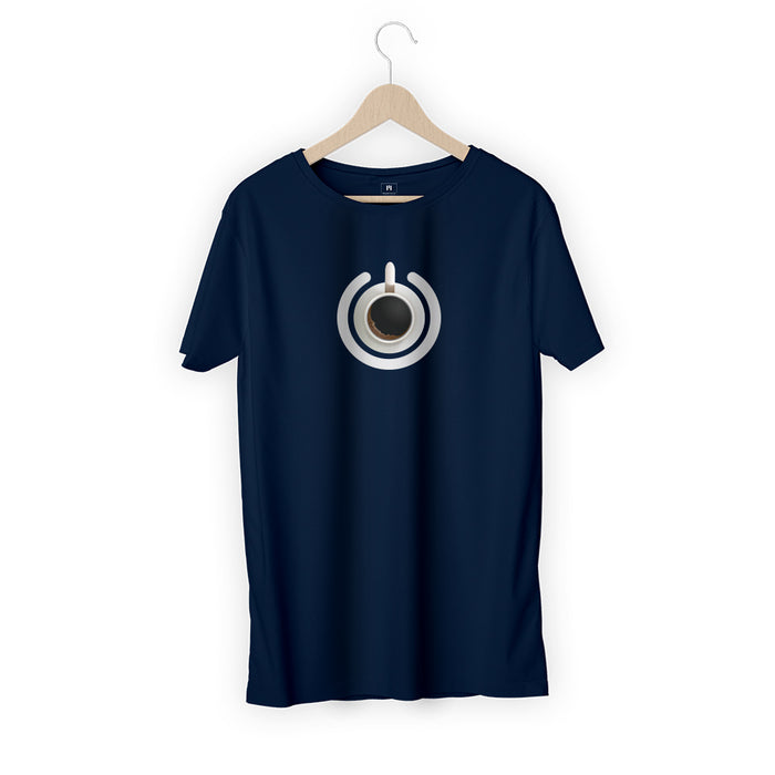 1881-coffee-power-button-men-half-t-shirt