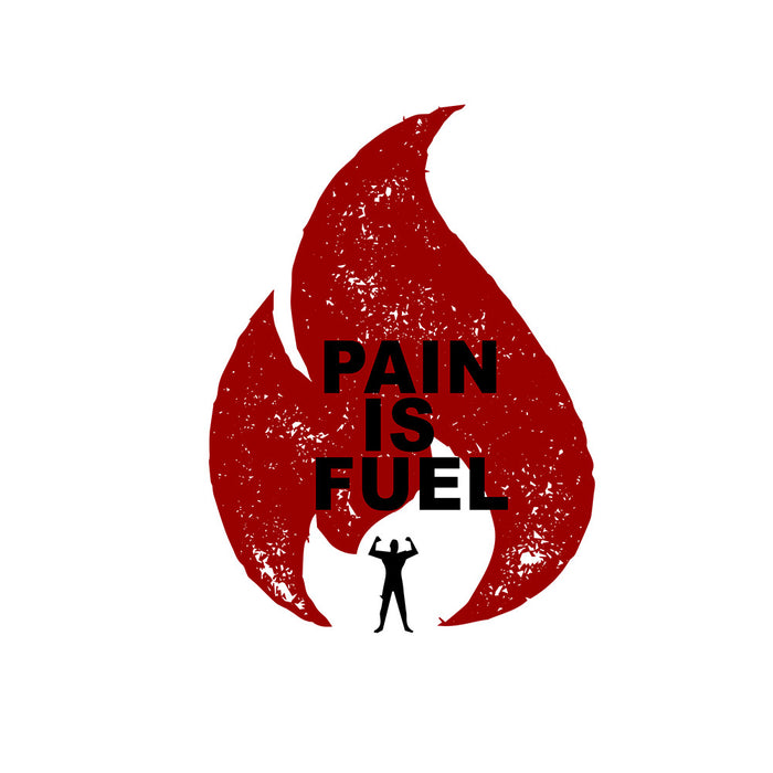 951-pain-is-fuel-men-half-t-shirt