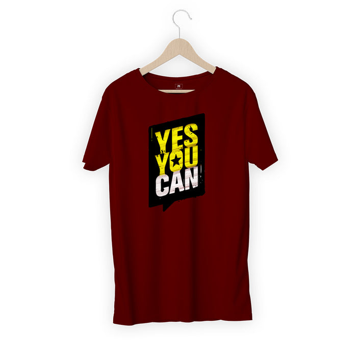 1726-yes-you-can-men-half-t-shirt