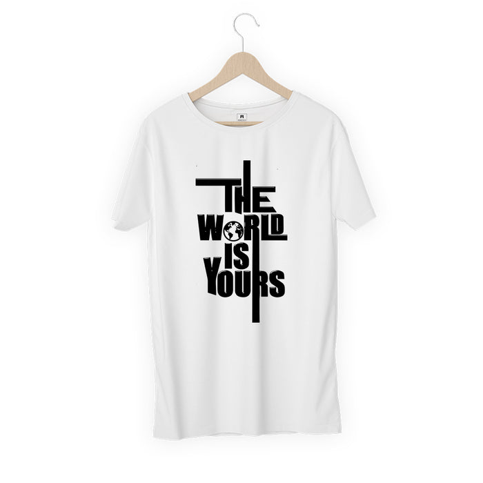 1766-the-world-is-yours-men-half-t-shirt