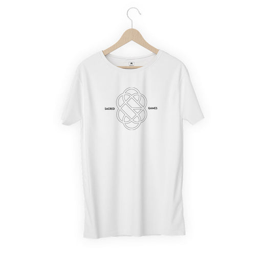 2841-sacred-games-logo-women-half-t-shirt