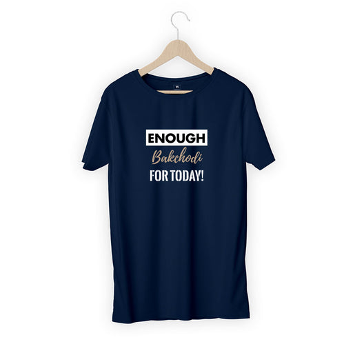 2856-enough-bakchodi-for-today-women-half-t-shirt