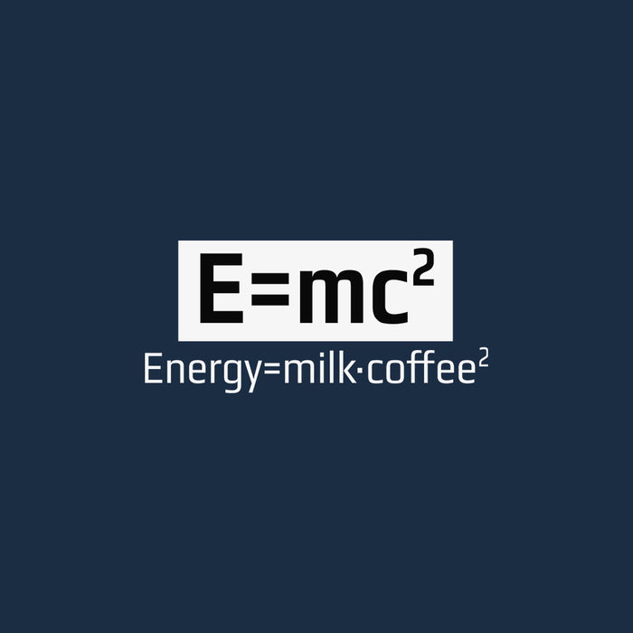 1195-energy-equals-milk-coffee-men-half-t-shirt