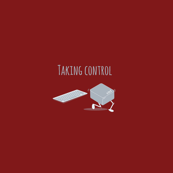 1238-taking-control-men-half-t-shirt
