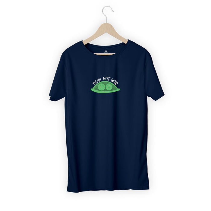 1256-peas-not-war-men-half-t-shirt