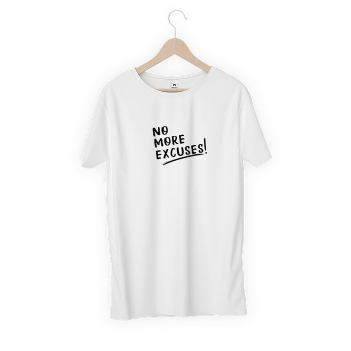 1279-no-more-excuses-men-half-t-shirt