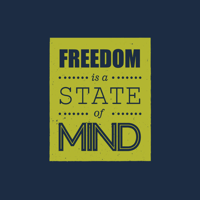 1294-freedom-is-a-state-of-mind-men-half-t-shirt