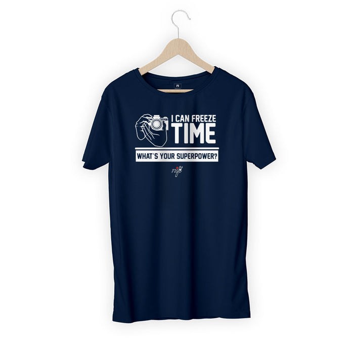1352-i-can-freeze-time-men-half-t-shirt