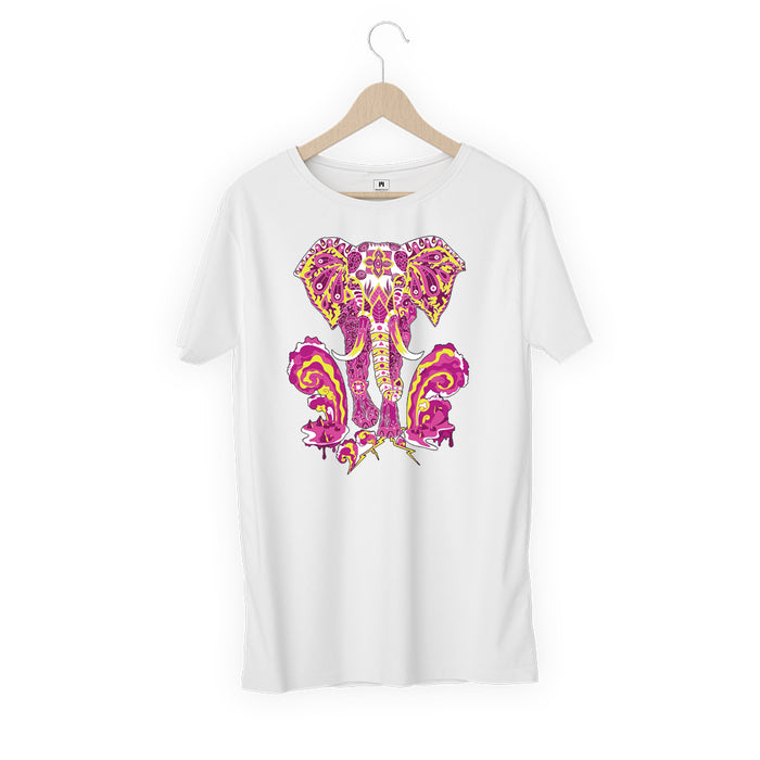 5828-elephant-women-half-t-shirt