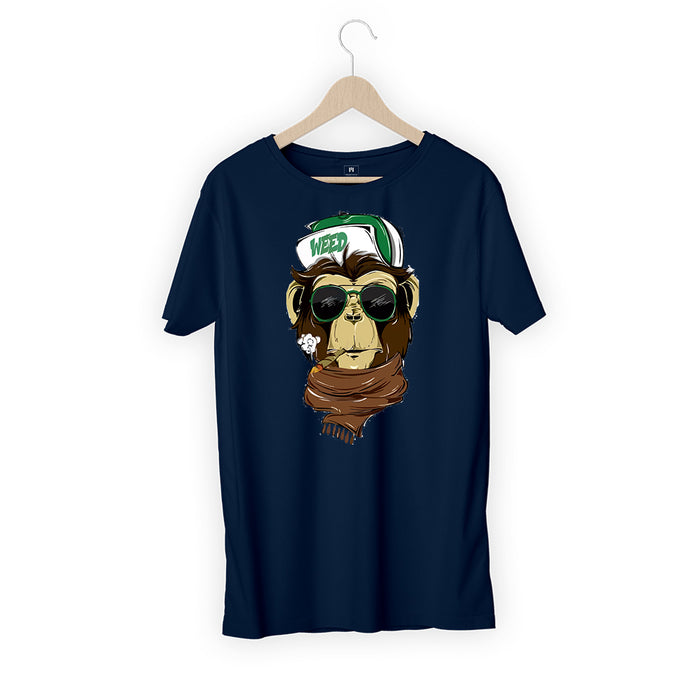 5797-weed-monkey-men-half-t-shirt