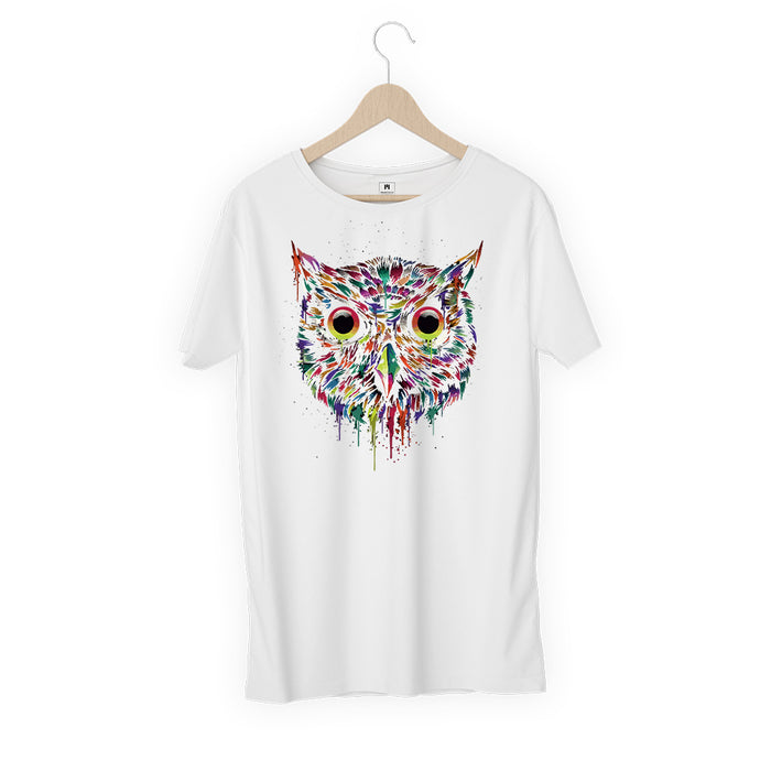 5839-owl-women-half-t-shirt