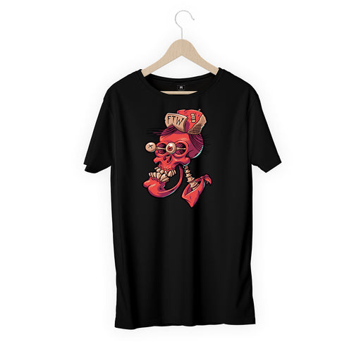 5844-eye-skeleton-women-half-t-shirt