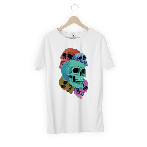 Skeleton Men Half T-Shirt