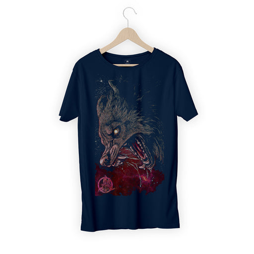 Bloody Wolf Men Half T-Shirt