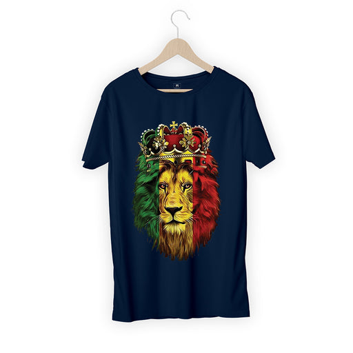 Lion Crown Men Half T-Shirt