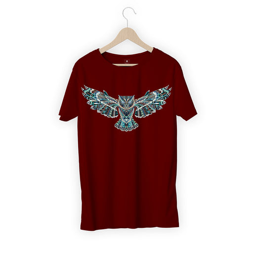 Flying Owl Men Half T-Shirt
