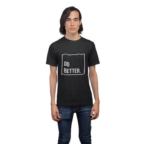 Men Printed Round Neck T-shirt Do better