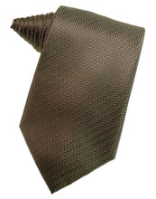 Load image into Gallery viewer, Espresso Herringbone Necktie