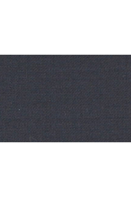 MaxDavoli Solid Navy Plain Front Pants