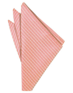 Coral Palermo Pocket Square