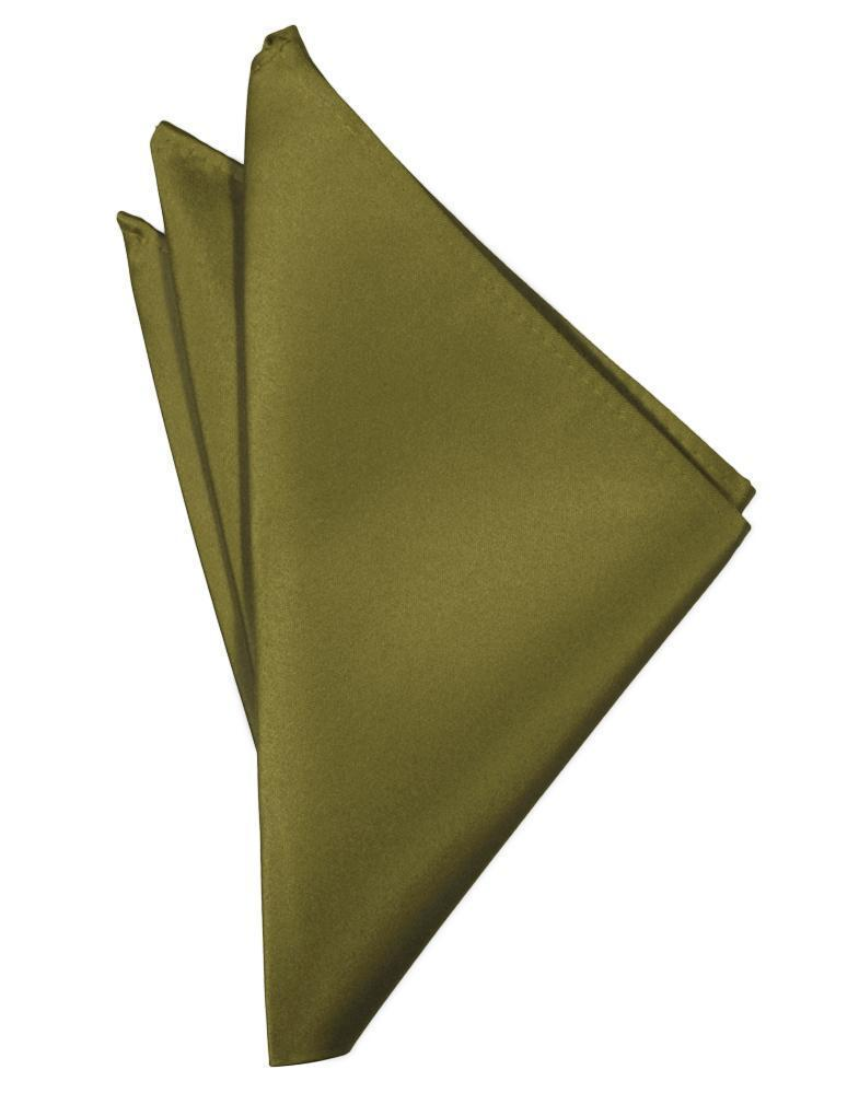Fern Luxury Satin Pocket Square