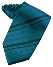 Load image into Gallery viewer, Oasis Striped Satin Necktie
