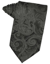 Load image into Gallery viewer, Charcoal Tapestry Necktie