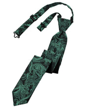 Load image into Gallery viewer, Holly Tapestry Skinny Necktie