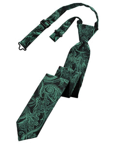 Holly Tapestry Skinny Necktie