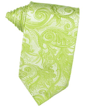 Load image into Gallery viewer, Lime Tapestry Necktie