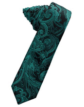 Load image into Gallery viewer, Oasis Tapestry Skinny Necktie